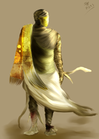 King of Forgotten Sand - Esoeumus by SyedHeckle