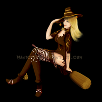 Sierra the Witch by manic-k