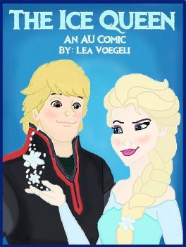 The Ice Queen AU Comic Cover by Lea V. by CaptainMockingjay