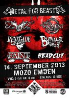 Metal for Beasts Festival by hardyzbest