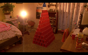 My Sister is OCD with Cups by Etrocal