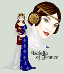 Isabella of France by killingarkady