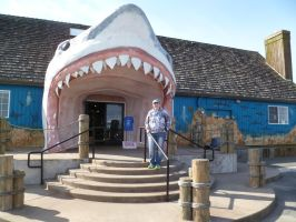 Me at Sharky's in Ocean Shores, WA! by MeBeingBored15