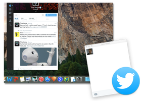Twitter for OS X Yosemite by Aviatorgamer