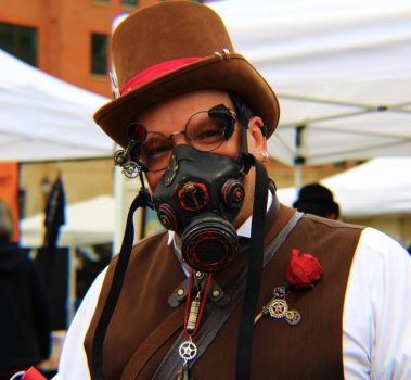 Steampunk City: Pyrotechnic by Sagittarianism