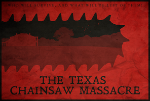 Fear - The Texas Chainsaw Massacre Poster by edwardjmoran