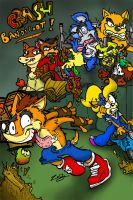 crash the bandicoot by ZoDy