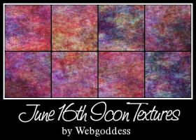 16 June Icon Textures by webgoddess