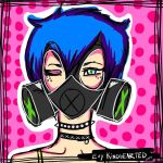 Gas Mask by EvyKindhearted