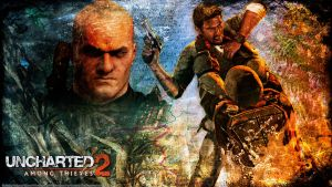 Uncharted 2 wallpaper 4 by De-monVarela