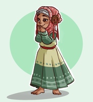 Little Thumbalina by K-mee
