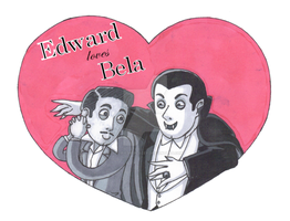 Edward loves Bela by Dial-P-For-Placey
