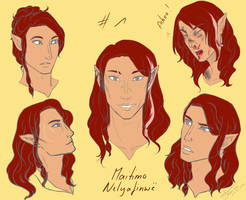 Character Page Maedhros by Lian1994