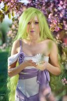 Moon flower by Ryoko-demon
