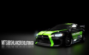 Mitsubishi Lancer Evolution by tappei