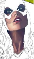 Batgirl color unfinished by Asuka7