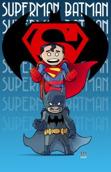 World's Finest Comics by MARR-PHEOS