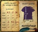 SHIRT GUIDE UNISEX by happy-dementor