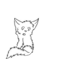 :O free puppy line art by Kitty61553