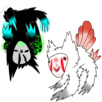 rare vultermask adoptables by CleverConflict