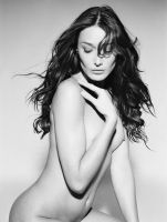 Nude Carla Bruni for Monachrome by Vanessa von Zit by VanessavonZitzewit
