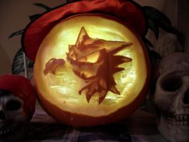 Haunter Pumpkin by OpalOsprey