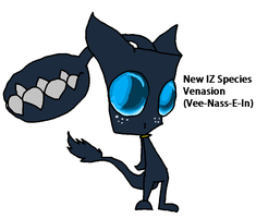 Venasion- new fanmade IZ Species by Dipndotz97