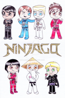 Ninjago: Masters of Spinjitsu by ZaneNya