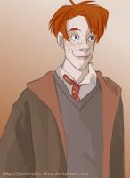 Ron Weasley by periwinkle-blue