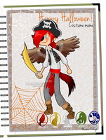 MR: Alex's halloween outfit by Ch4rm3d