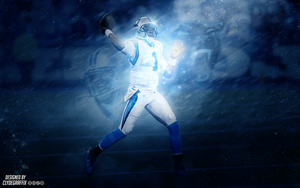 Cam Newton | Wallpaper by ClydeGraffix