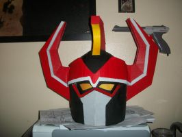 MegaZord Helm Done by ShadowMaginis