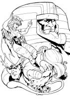 Darkstalkers BW by Peter-the-Tomato