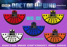 Daleks - 2010 by mikedaws