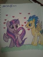 twilight and flash by starlily77