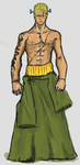 monster zoro by Devilicous