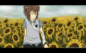 Sunflowers Field by Monana-chan