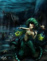 Beauty of the Deep by Chansey123