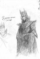 Sauron (1st Age) by TurnerMohan