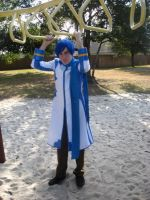 Kaito- Too Tall for This... by BladeXD