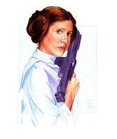 Leia by roberthendrickson