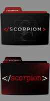 Scorpion Folder Icon by Andreas86