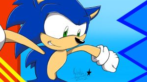 Sonic the Hedgehog 2012 by kyleultra128