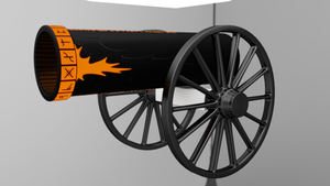WIP: Fantasy Cannon by racerxonclar