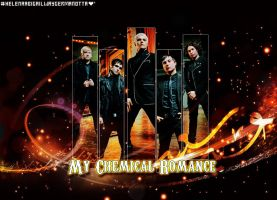 Wallpaper ''My Chemical Romance'' - RECURSOS by HelenaAbigailWG