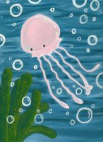 Jellyfish by captain-farand