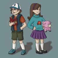 Pines Twins by yun-min