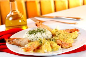King Shrimp with Rice by Markhal