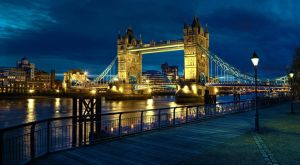 Tower Bridge at Night by CMiner1
