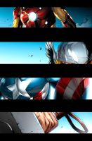 Pet Avengers pg1 by JPRart